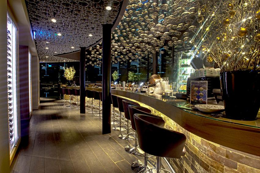 De bar van Fletcher Hotel Amsterdam