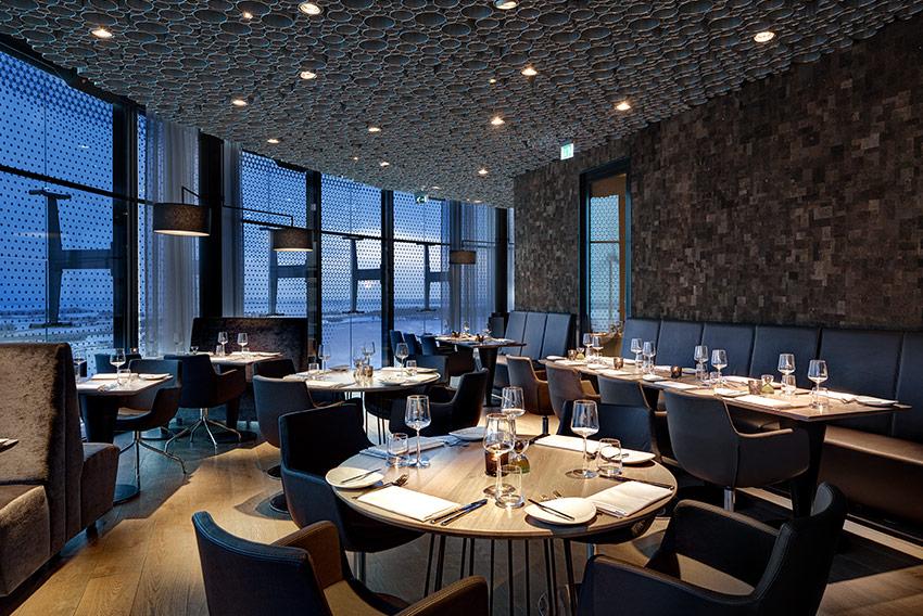Sfeerbeeld van het restaurant van Fletcher Hotel Amsterdam